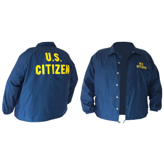 Jacket Front and Back